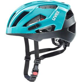 UVEX Quatro XC - Casque de vélo - bleu/noir